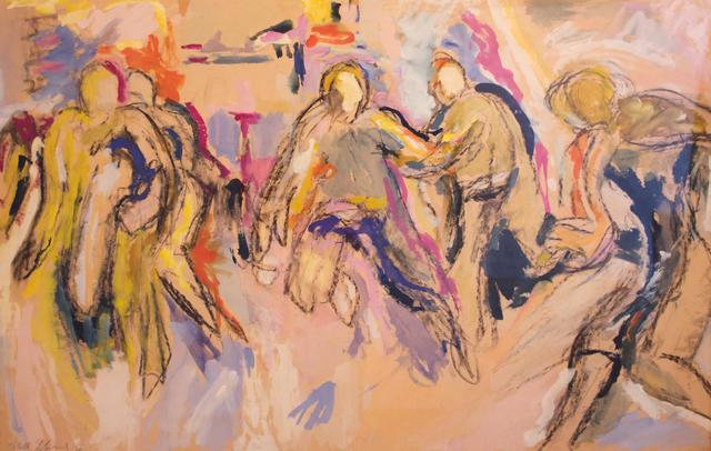, 'Athletes,' 1956, Reynolds Gallery