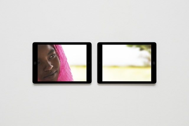 , 'EMERGENCY's Paediatric Centre in Port Sudan, Photos Shown on Two Apple iPad Air 2s,' 2014, West Den Haag