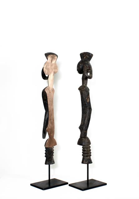 , 'Mumuye III,' 2017, TAFETA