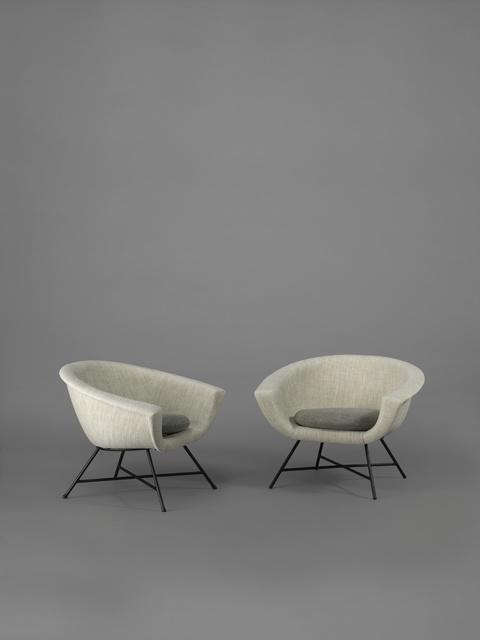 , 'Pair of armchairs 58 - Corbeille,' 1958, Galerie Pascal Cuisinier