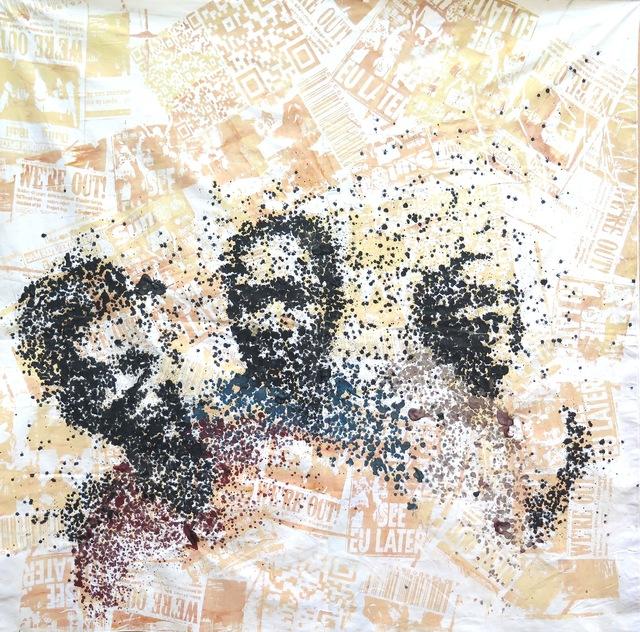 , 'Le berlin dit l'UE,' 2017, Galerie Cécile Fakhoury - Abidjan