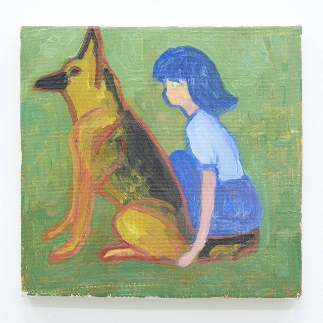 Makiko Kudo, 'I want to apologize to the shepherd dog', 2017, Tomio Koyama Gallery