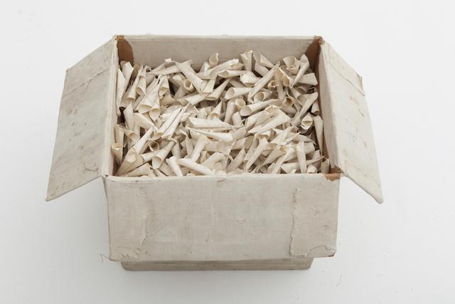 , 'Funnelled Paper,' 1985, Gallery Isabelle van den Eynde