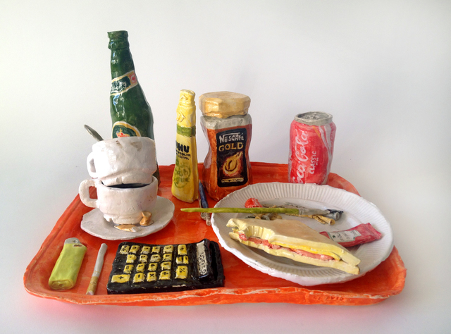 , 'Tray with Selected Objects,' 2015, V1 Gallery
