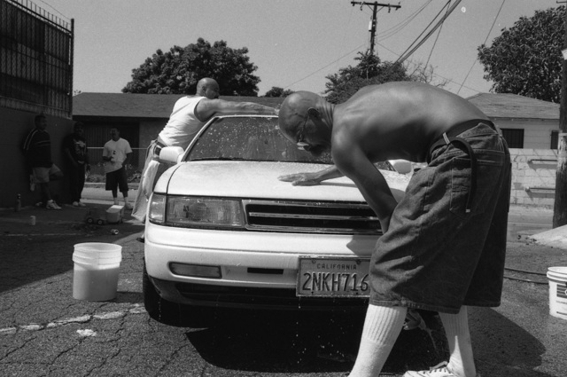 ", '""Smiley"" - Car Wash for Peter RIP,' 1998, Galerie Bene Taschen"