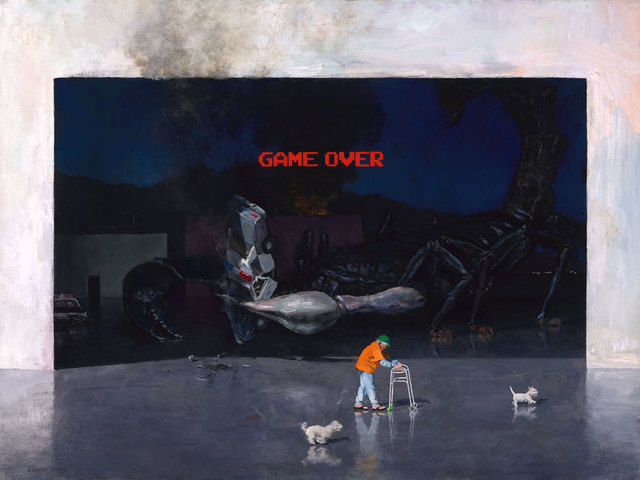 , 'Game Over,' 2018, ARCADIA CONTEMPORARY