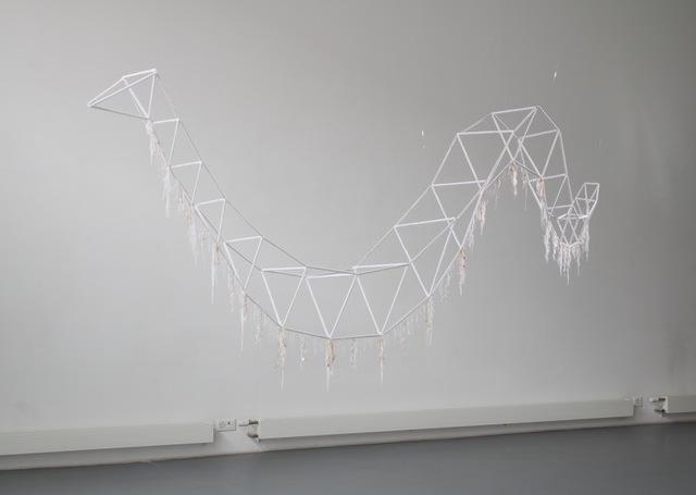 , 'White Mixcoatl (serpent de mer),' 2016, Art Bärtschi & Cie | Geneva, Switzerland