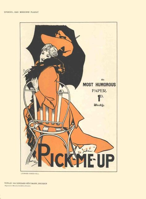 Leonard Raven-Hill, 'Leonard Raven-Hill - Pick-Me-Up - 1897', 1897, ArtWise