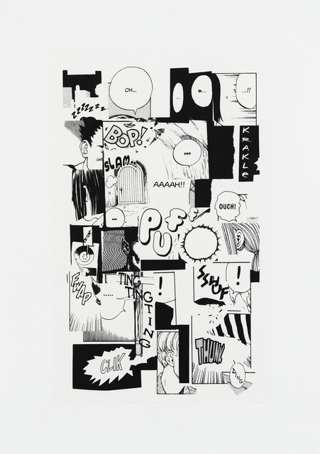 Christian Marclay, 'Puff Ouch!', 2011, Sims Reed Gallery