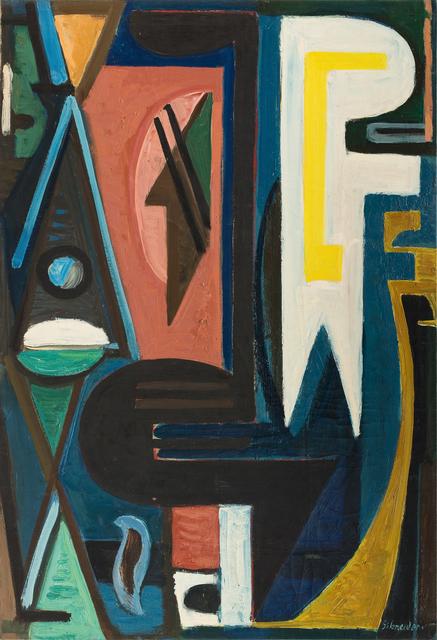 , 'Opus 271,' 1945, Galerie Diane de Polignac & Chazournes