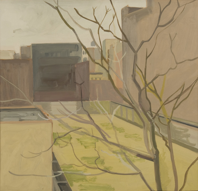 , 'View from Window, March, Men's Shelter #3,' 1968, Alexandre Gallery