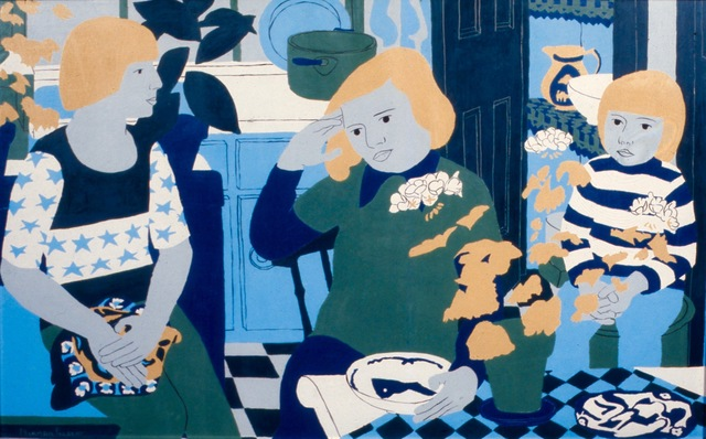 Norman Gilbert, 'People in a Kitchen with Plants', 1974, Tatha Gallery