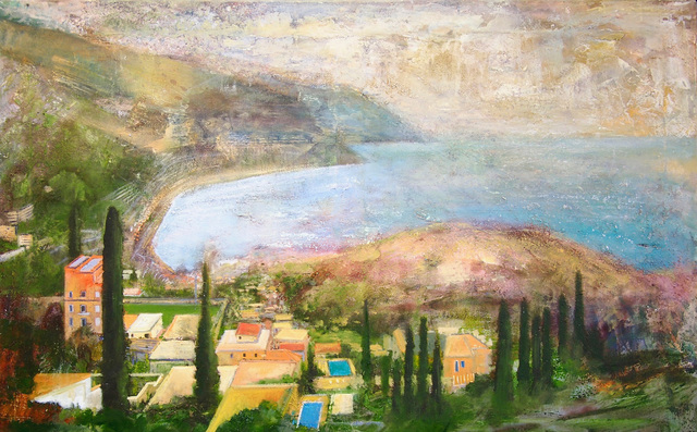 , 'Sicily, Taormina - Looking Towrds Spisone from the Ancient Theatre,' 2018, Sarah Wiseman Gallery