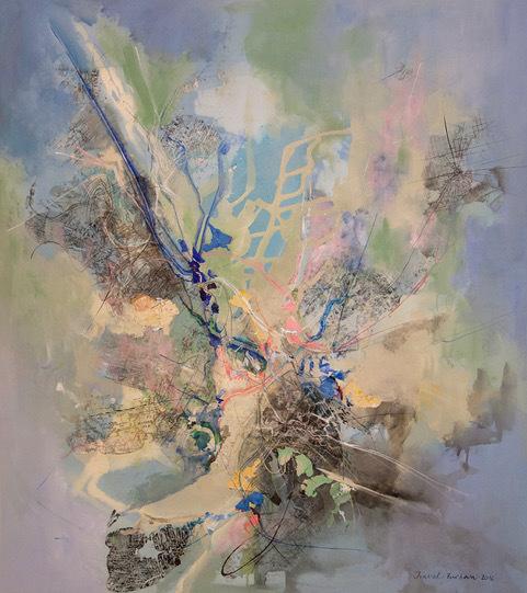 , 'Tu del norte yo del sur,' 2018, Artemisa Gallery