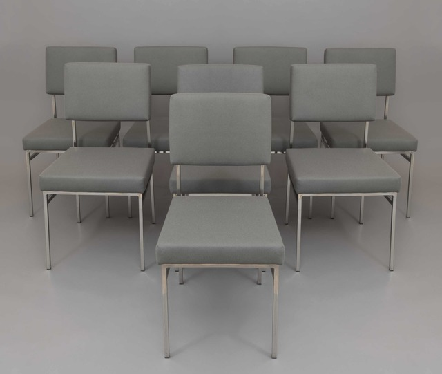 , 'Set of 8 chairs P60,' 1958/1960, Galerie Pascal Cuisinier