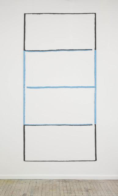 , 'Untitled, channel (black, blue, blue, black),' 2013, OV Project