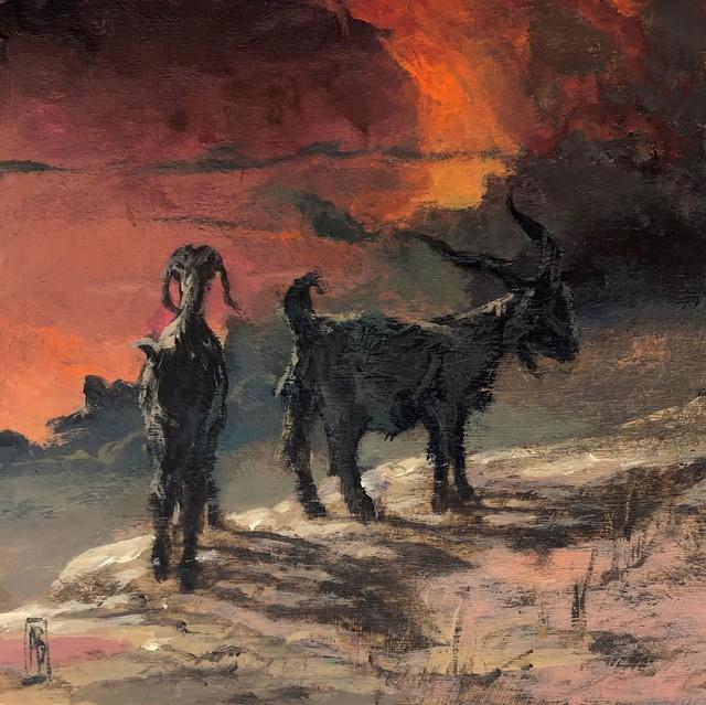 Adam Burke, 'Koza', 2019, Painting, Acrylic on panel, Abend Gallery