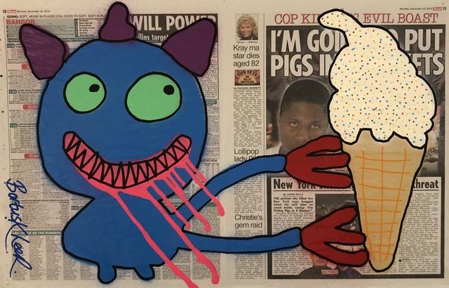 , 'Ice Cream Annie - Double Tabloid,' 2014, Kalkman Gallery