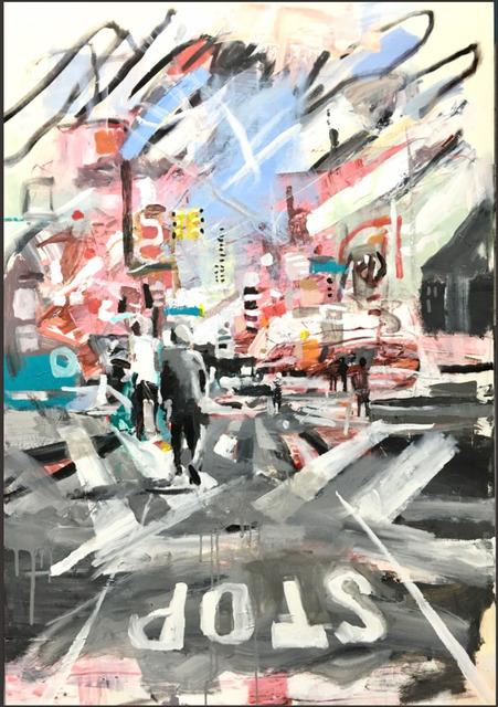 , 'Bushwick Sketches Series (2),' 2016, Woodward Gallery