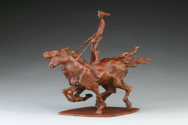 , 'Riding Moderna,' 2006, Cavalier Galleries