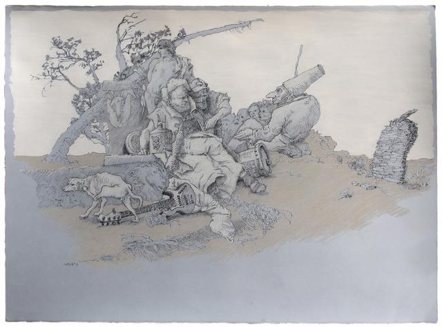 , 'Scherzo - Consultation with Punchinello,' 2015, Gallery NAGA