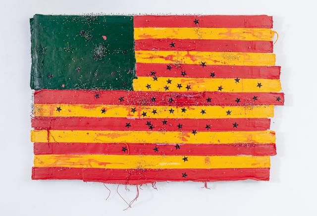 , 'Vandalisme Coloré (États Désunis d'Afrique),' 2018, Galerie Nathalie Obadia