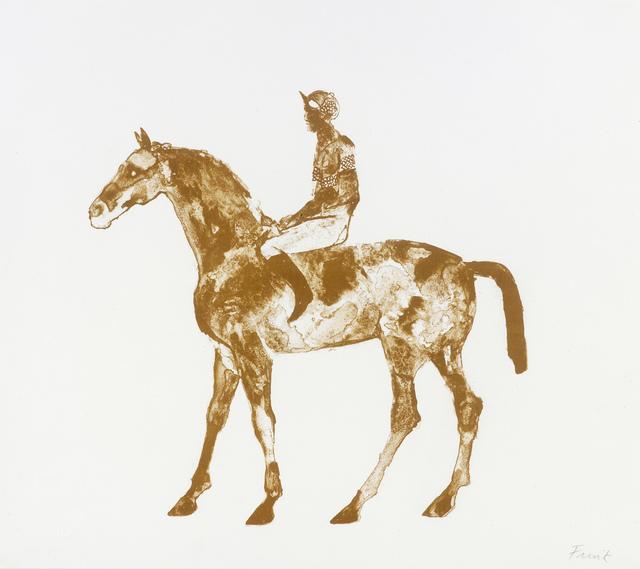 , 'Horse and Jockey,' 1971, Osborne Samuel