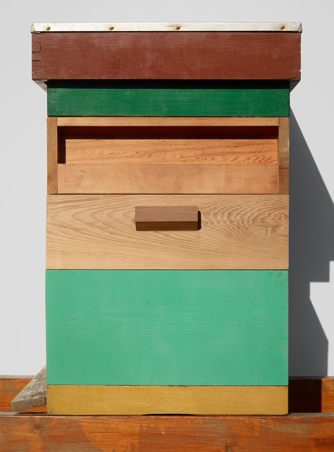 , 'Beehives (Green, Wood & Brown),' 2017, The Ravestijn Gallery