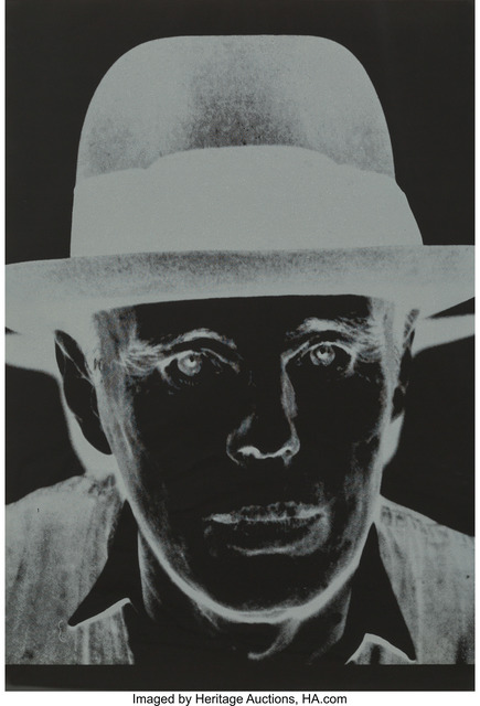 Andy Warhol, 'Joseph Beuys', 1980, Heritage Auctions