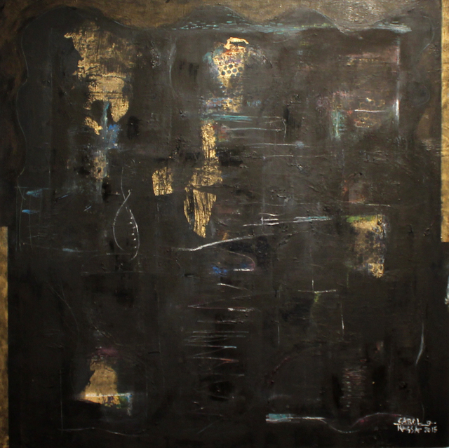 , 'Golden Path,' 2015, Carter Burden Gallery