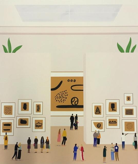 , 'Works On Paper,' 2015, Rebecca Hossack Art Gallery