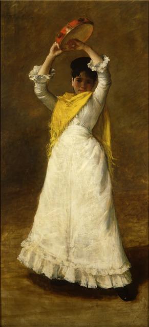 , 'Portrait of Miss L. (Portrait of Angelica Hamilton Lawrence),' 1892, Montclair Art Museum