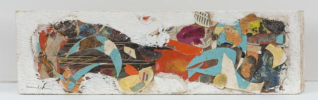 Beatrice Mandelman, 'Untitled', c. 1958, Sculpture, Gouache and collage on wood block, Rosenberg & Co.