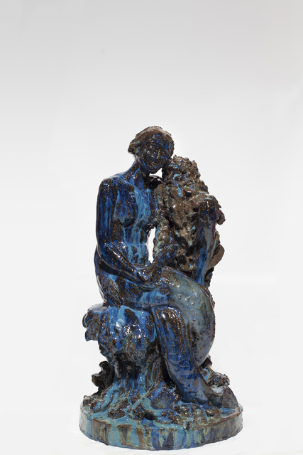 Paulina Olowska, 'Mermaid with old man (after Robert Diez)', 2014, Simon Lee Gallery