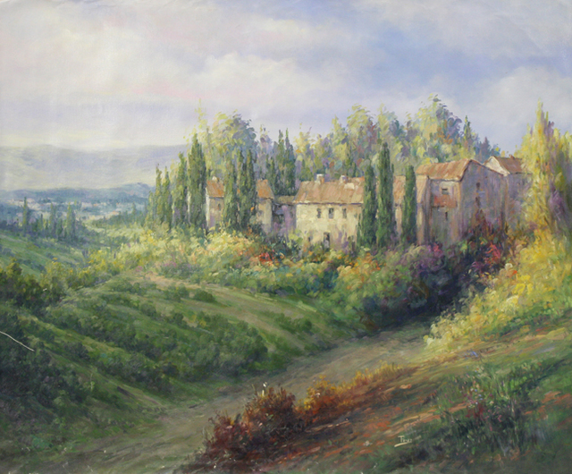 , 'Afternoon Lights in Tuscany by Alex Perez,' , The Loft Fine Art
