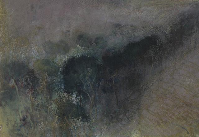 , 'Landscape L1169 - Trees in a Hollow of the Escarpment near Ivinghoe ,' 2019, Alan Kluckow Fine Art