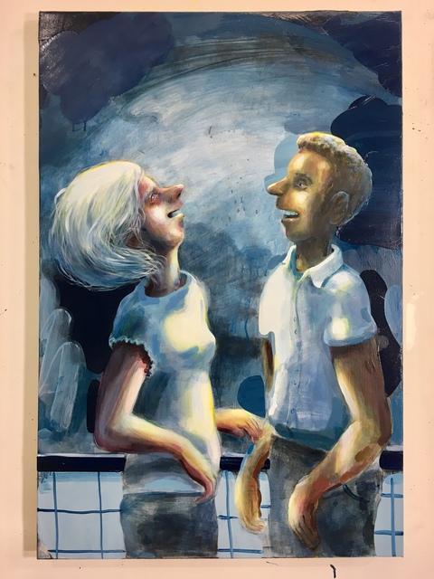 , 'Laughing,' 2018, CRUSHCURATORIAL