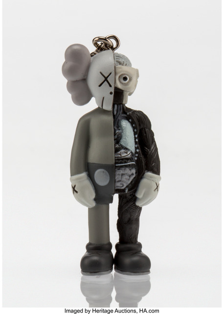 KAWS, 'Dissected Companion (Grey), keychain', 2010, Other, Painted cast vinyl, Heritage Auctions
