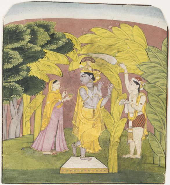 , 'Lahula Raga of Dipak,' ca. 1800, Princeton University Art Museum