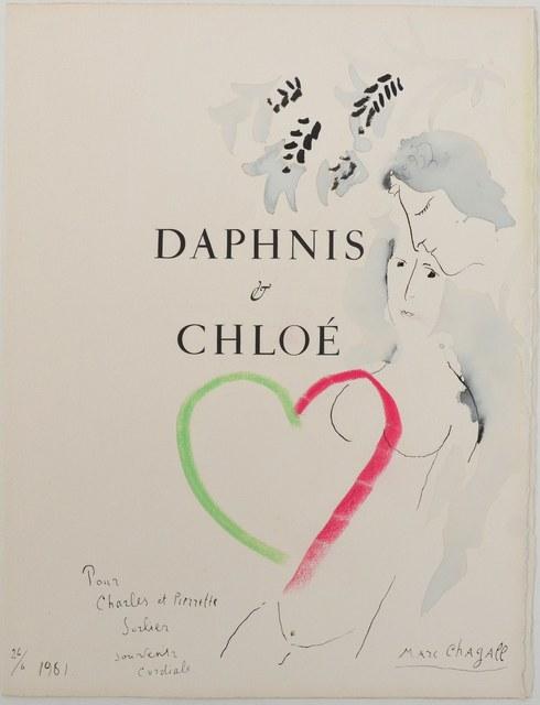 , 'Daphnis & Chloé,' 1960-1961, Beck & Eggeling