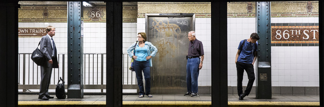 Natan Dvir, '86th St, 3:42pm', 2014, Photography, Digital C-Prints on archival paper, Patricia Conde Galería