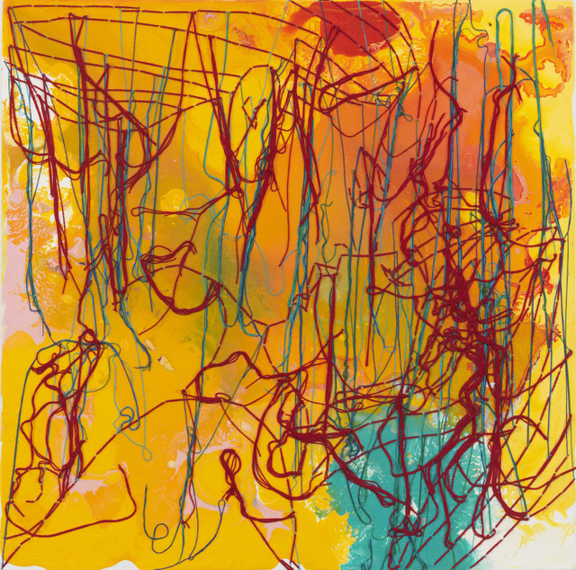 Ghada Amer, 'The Kiss,' 2010, Cheim & Read
