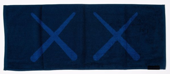 KAWS Holiday Towel (Navy)
