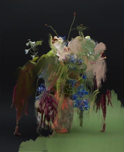 , 'Still Life (Flowers 2),' 2020, Purdy Hicks Gallery