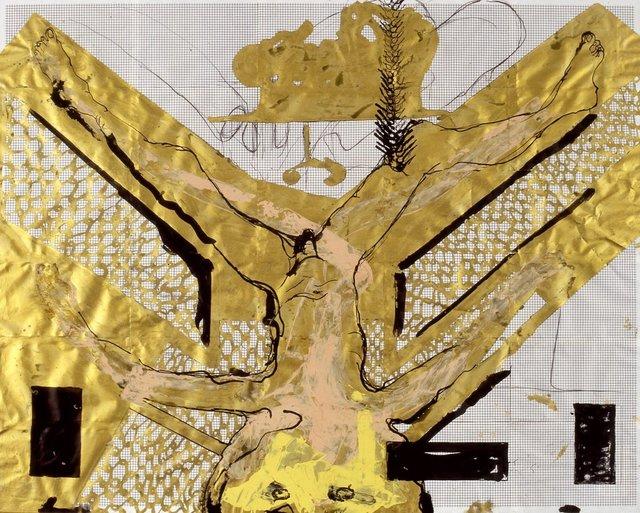, 'Entwurf mit Phantasiefiguren,' 1989, Galerie Elisabeth & Klaus Thoman