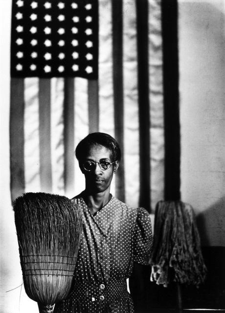 , 'American Gothic, Washington, DC,' 1942, Howard Greenberg Gallery