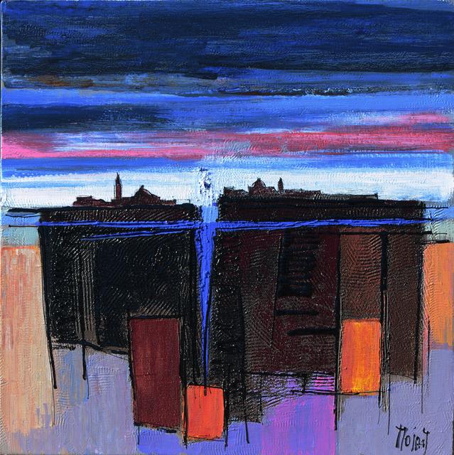 Moiras Jean, 'Crépuscule sur San Giorgio', 2019, Galerie Christiane Vallé