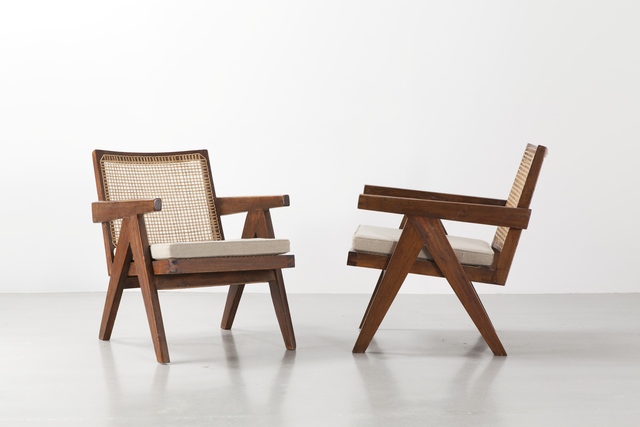 , 'Pair of Easy armchairs,' 1952-1956, Galerie Patrick Seguin