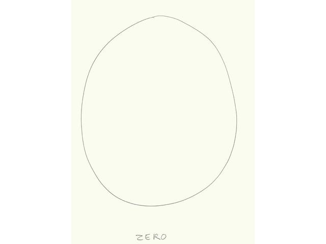 , 'Zéro (5),' 2009, Galerie Laurent Godin