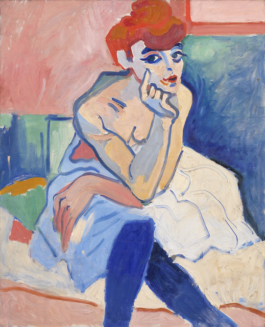 , 'Woman in a Chemise,' 1906, Statens Museum for Kunst